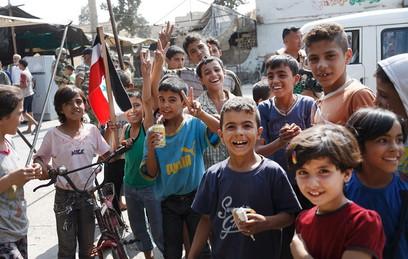 Почти 250 беженцев из лагеря Эр-Рукбан прибыли в Дамаск