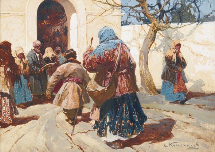 художник Степан Колесников картины - 16