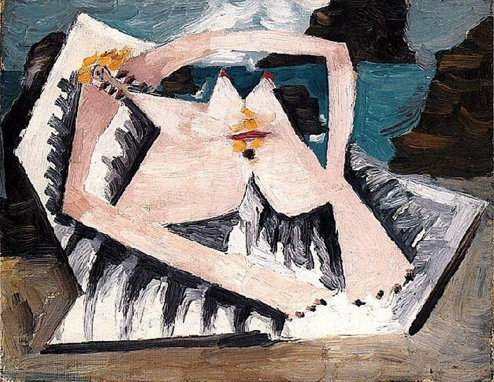 Пабло Пикассо. Купальщицы  5. 1928 год