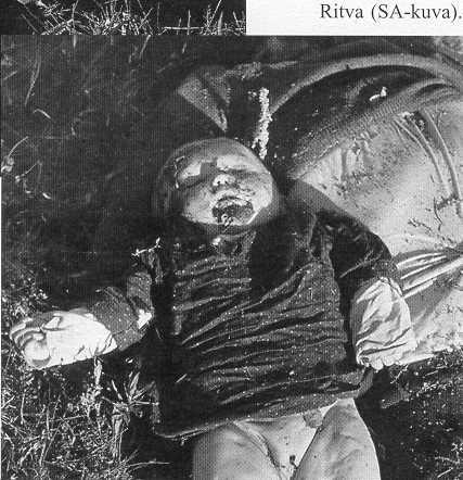 Волынская резня. Издевательства и убийство детей. Фото