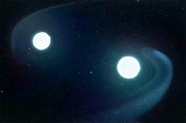 Рождение двойной нейтронной звезды