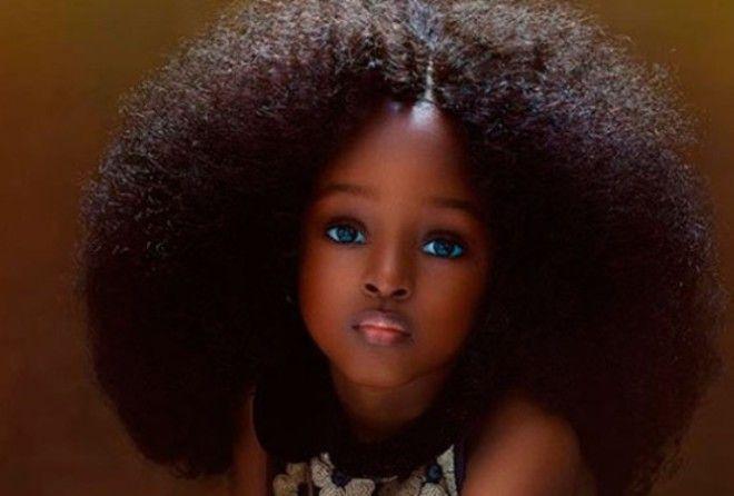 Самой красивой девочкой в мире признана пятилетняя нигерийка
