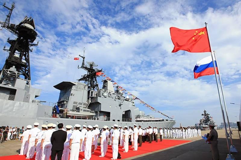 Морские учения РФ и КНР перешли в активную фазу