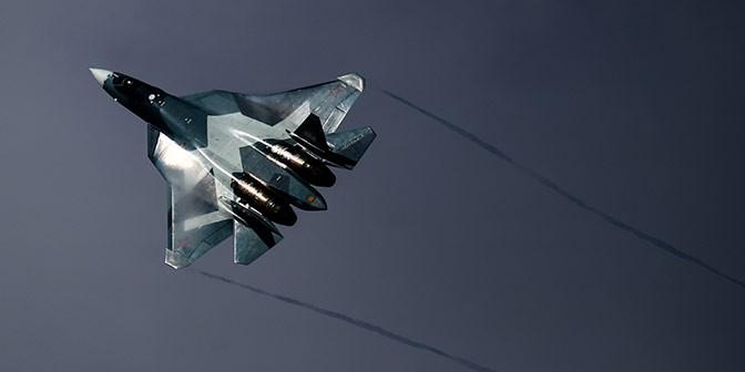 Путину показали новый многофункциональный истребитель Т-50