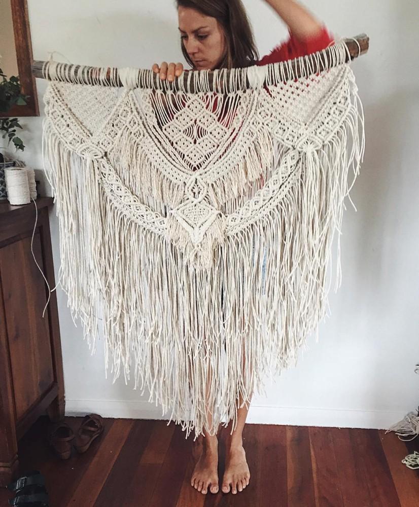 Макраме возвращается: тренд на узелковое плетение снова с нами