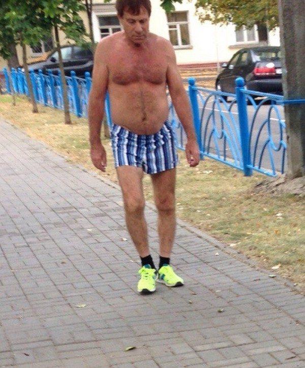 Суровая белорусская мода
