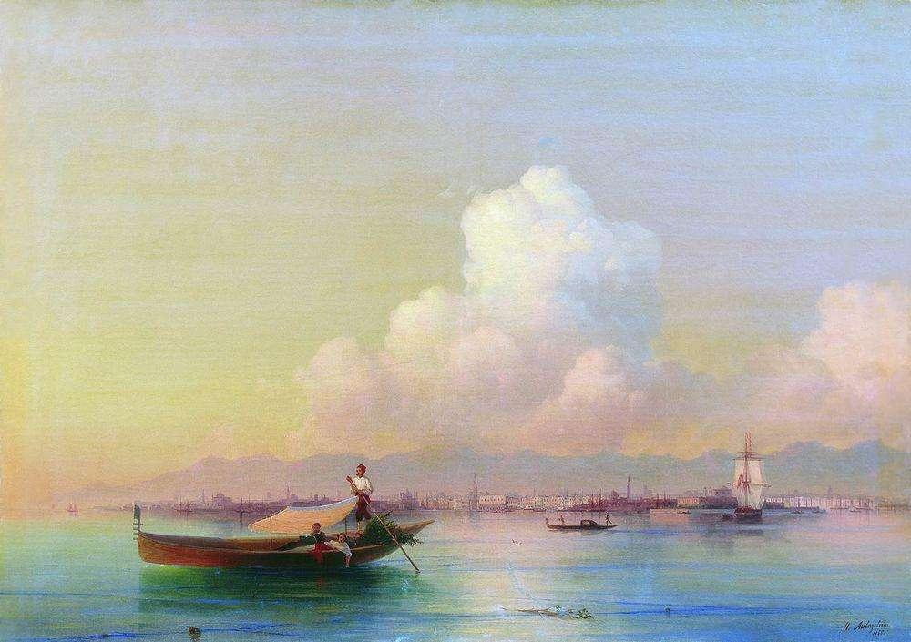 Вид Венеции со стороны Лидо