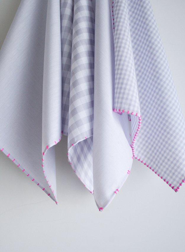 Как легко обработать края полотенца