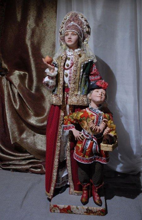 Невероятно реалистичные куклы от Алёны Абрамовой