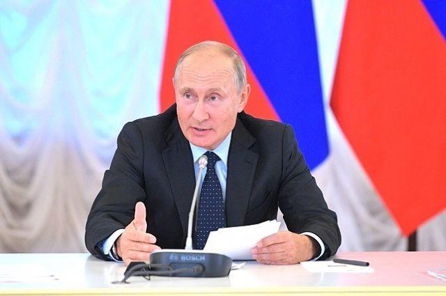 Путин выразил соболезнования в связи с крушением парома в Танзании
