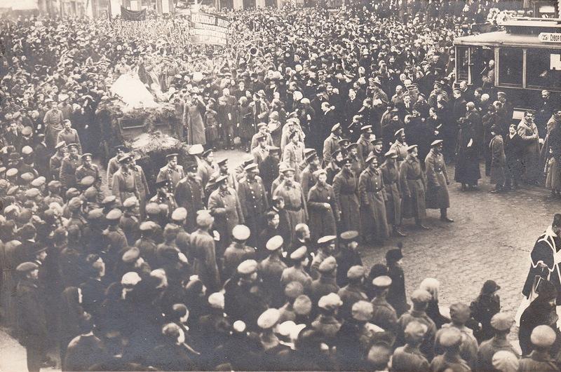 Февральская революция в фотографиях из коллекции Иона Дик-Дическу