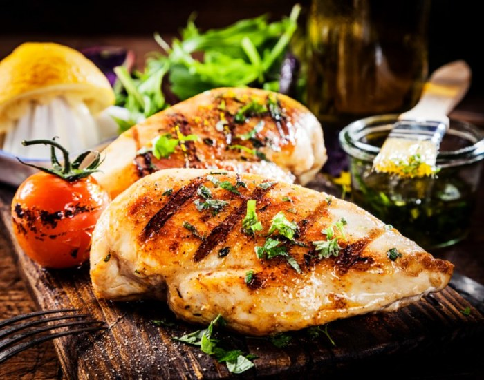 Куриное филе в мандариновой глазури.  Фото: chefmarket.ru.