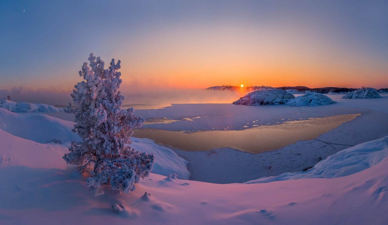 Красоты России. И снова Ладога