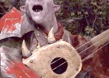 В Middle-earth: Shadow of War нашли орка-певца с замашками Лютика