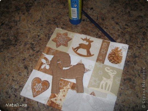 Мастер-класс Новый год Моделирование конструирование МК Новогодняя лошадка елочки кофемания Кофе фото 3