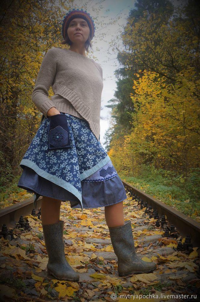 Шьем юбку в бохо стиле