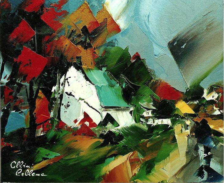 Канадский художник Albini Leblanc. Миниатюры мастихином. Пятая