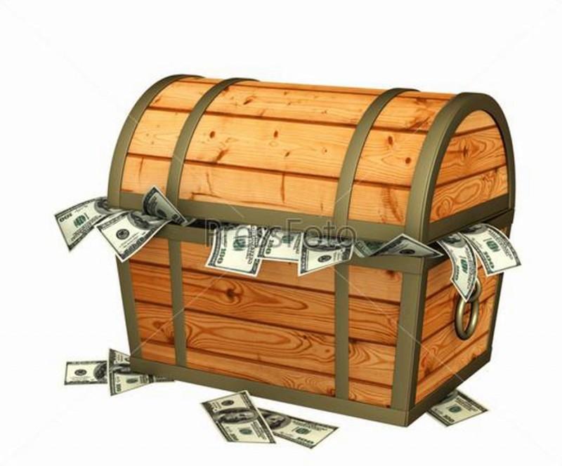 Власть ищет сундук с деньгам…
