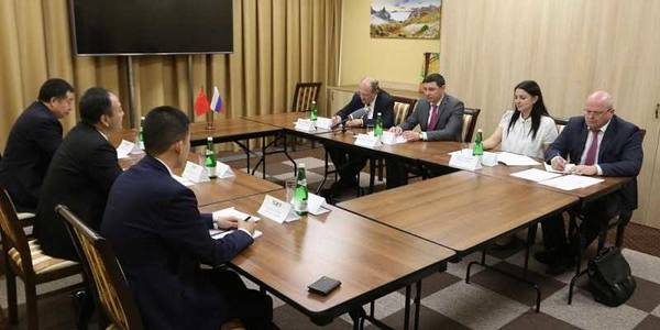 Мэр Краснодара провел переговоры с мэром Харбина