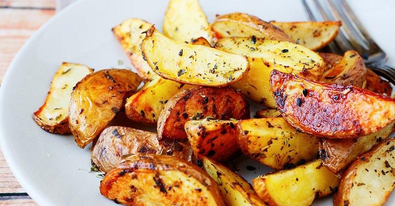 Рецепт картофеля в соевом соусе