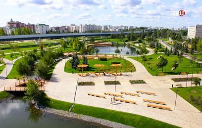 Собянин открыл самый большой городской парк за МКАД