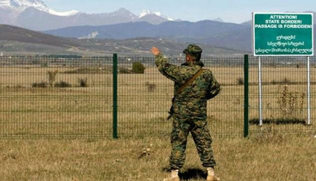 Грузинские пограничники заблудились и попали в Дагестан