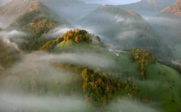 Ландшафты от Matjaz Cater