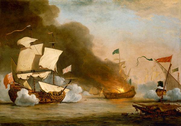 Пронырливые французы и торговые интересы пиратов