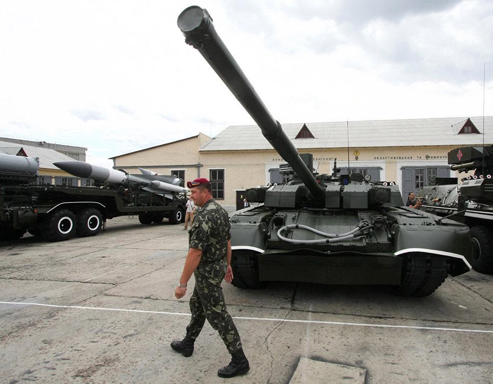 Минобороны Украины прокомментировало провал «Оплотов» на танковом биатлоне