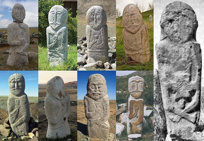 Каменных «баб» находят на степных просторах от Алтая до Украины и Белоруссии.