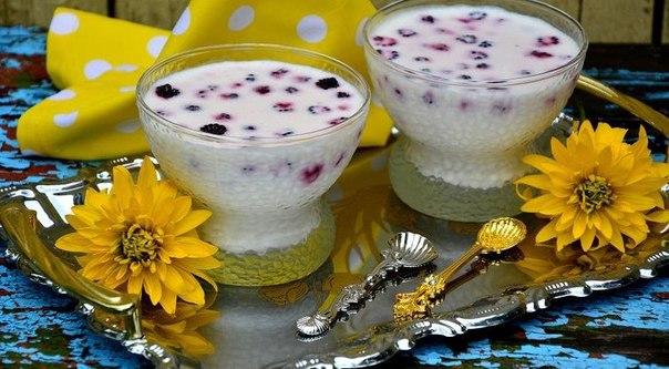 Десерты из творога с ягодами