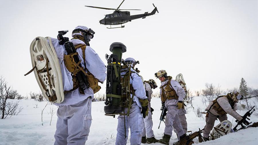 Морпехи НАТО как только видя…