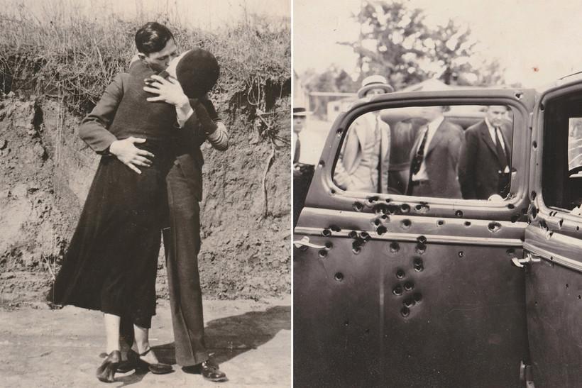 13 редких снимков из жизни Бонни и Клайда, самых известных влюбленных преступников
