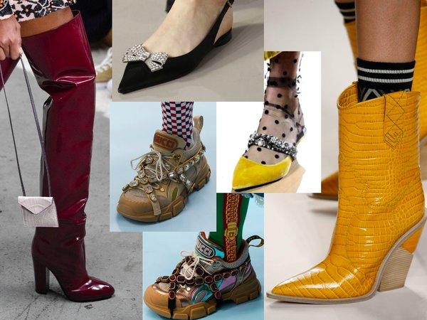 Главные тренды осенней обуви 2018 года