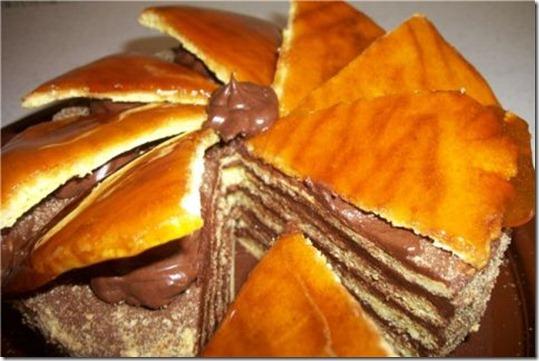 Чудесный торт Добош на 14 Февраля
