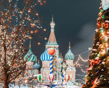 Погода в новогодней Москве