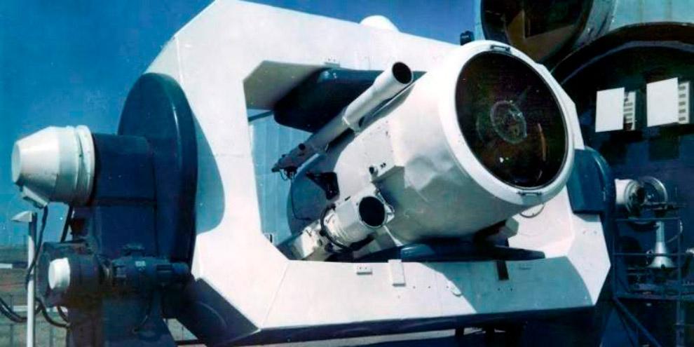 Телескоп ТГ-1 лазерного локатора ЛЭ-1, полигон Сары-Шаган