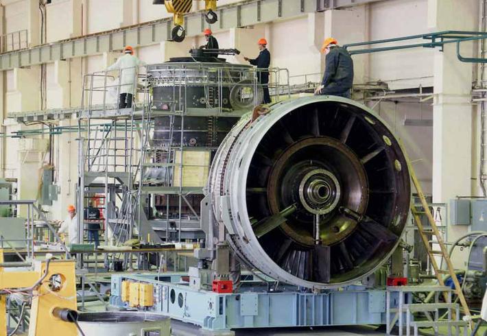 Газотурбинная энергетическая установка ГТД-110М успешно прошла первые два этапа испытаний