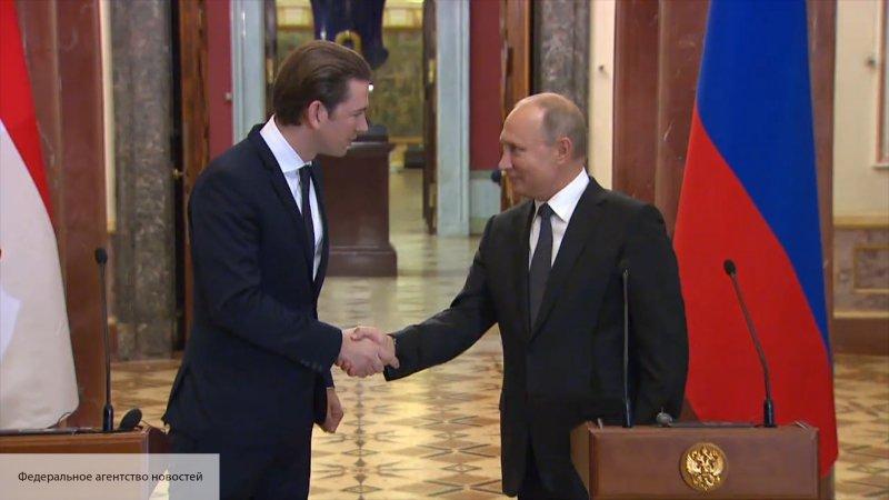 Путин поздравил Австрию с на…