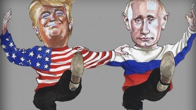 Американская пехота Путина