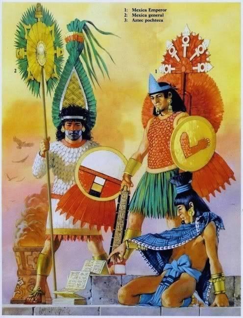 Мексиканские воины-орлы и воины-ягуары против испанских конкистадоров. «И грянул бой, смертельный бой!» (часть шестая)