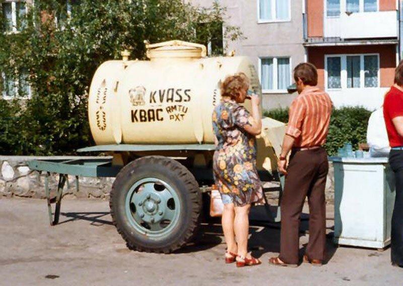 Квас в СССР. История в фотографиях
