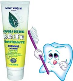 Опыт применения зубной пасты «SUNSHINE BRITE» NSP.