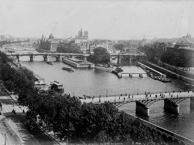 Париж 160 лет назад