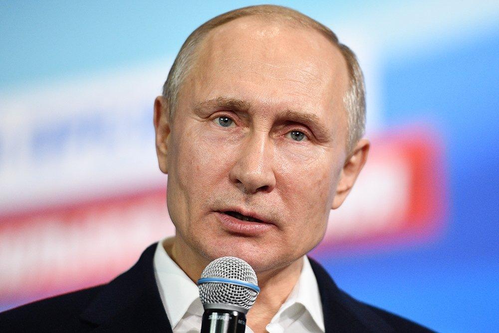 Путин на выборах получил под…