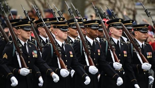 Военный парад в Вашингтоне о…