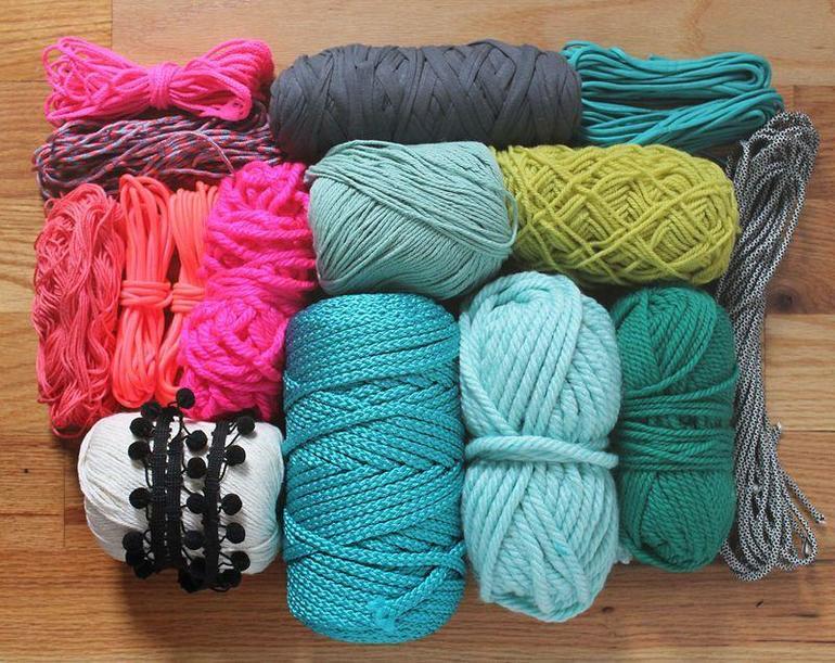Как выбрать пряжу для коврика