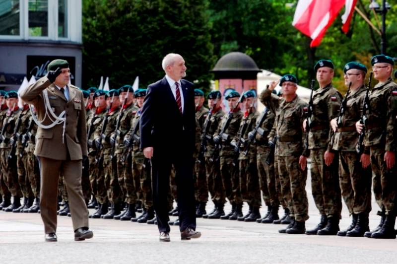 В Польше продолжается формирование нового вида войск