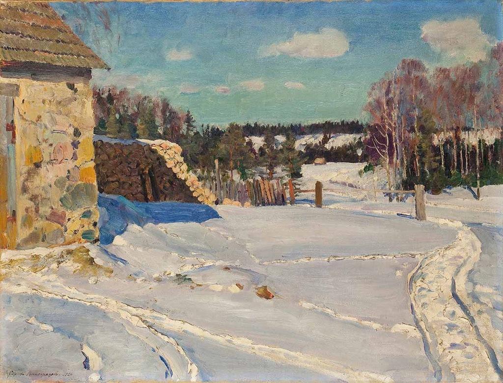 Русский художник Сергей Арсеньевич Виноградов