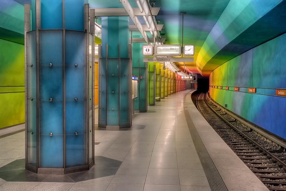MetroStations38 17 самых волшебных станций метро со всего мира